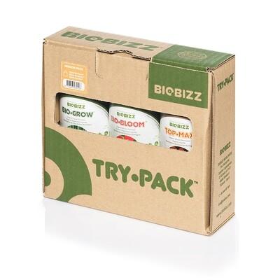 Bio Bizz - Try-Pack Indoor (комплект органических удобрений для закрытого грунта) 07322