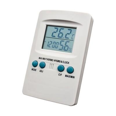 Цифровой термогигрометр белый 00236