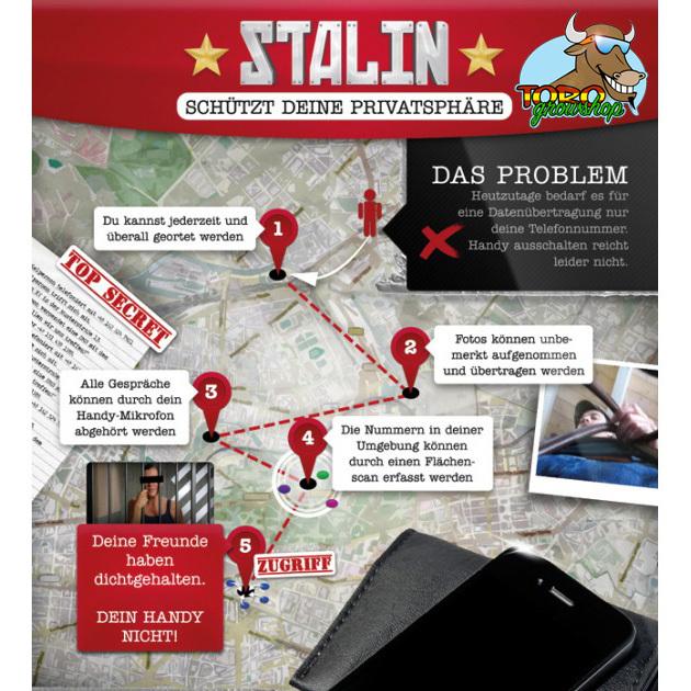 Stalin - блокиратор сигналов смартфонов (защита от слежки)