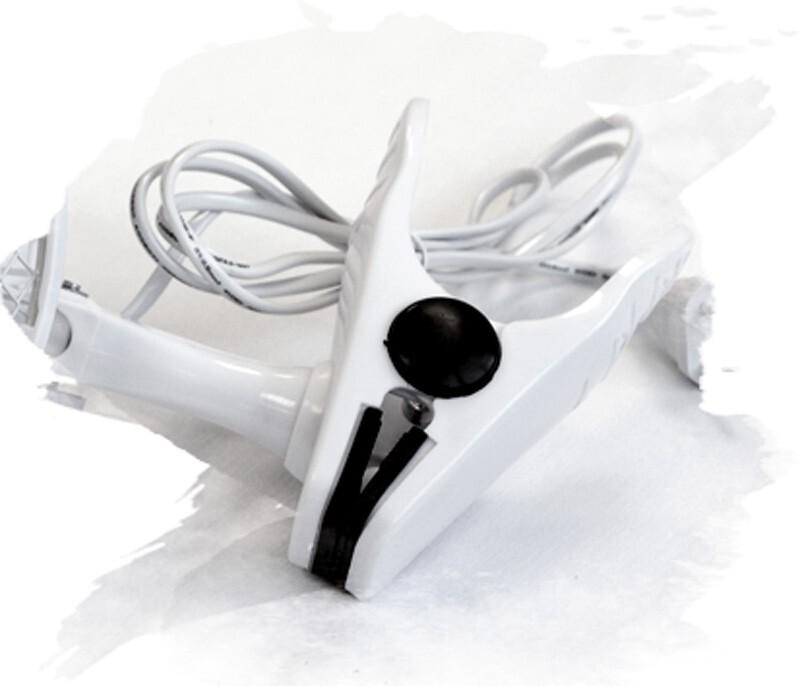 Вентилятор на прищепке для гроубокса с горизонтальной подставкой (15 см.)