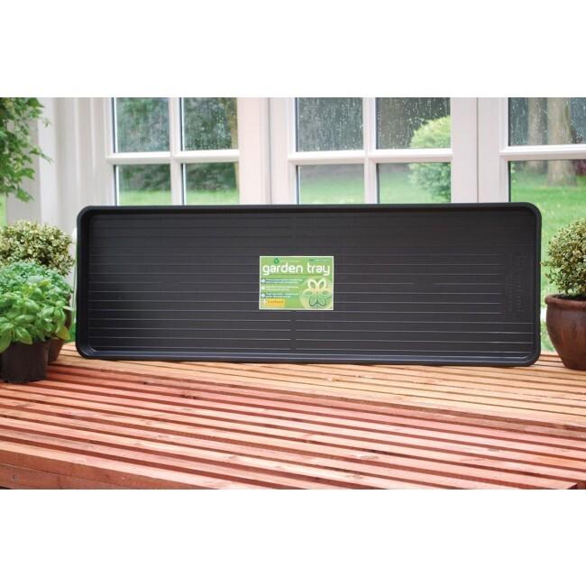 Jumbo Garden Tray Black - лоток для выращивания растений Garland