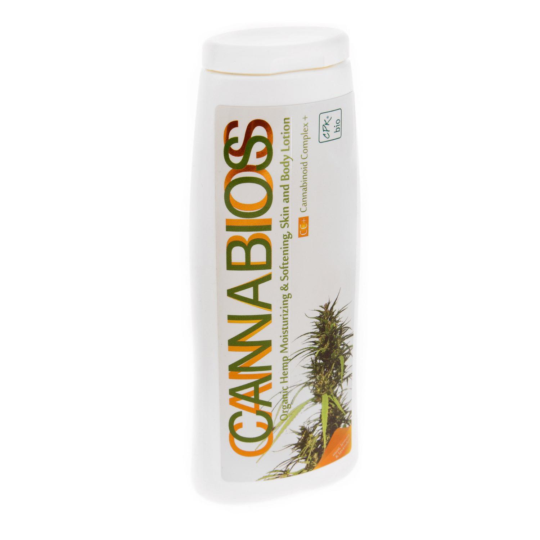 """Молочко для тела на основе конопли """"Cannabios"""" (250 мл.)"""
