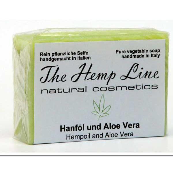 Мыло на основе конопли The Hemp Line Natural Cosmetics