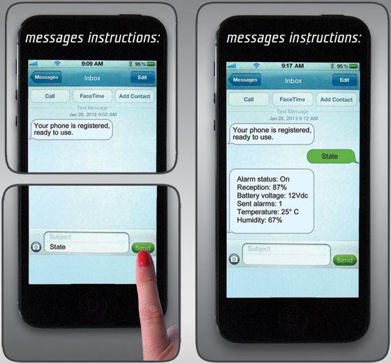 Комплект для оповещения и управления плантацией с помощью SMS