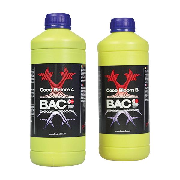 BAC - удобрение для кокосового субстрата на стадии цветения А+Б (Coco Bloom A+B)