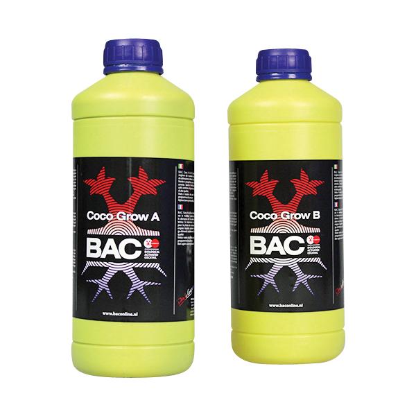 BAC - удобрение для кокосового субстрата на стадии роста А+Б (Coco Grow A+B)