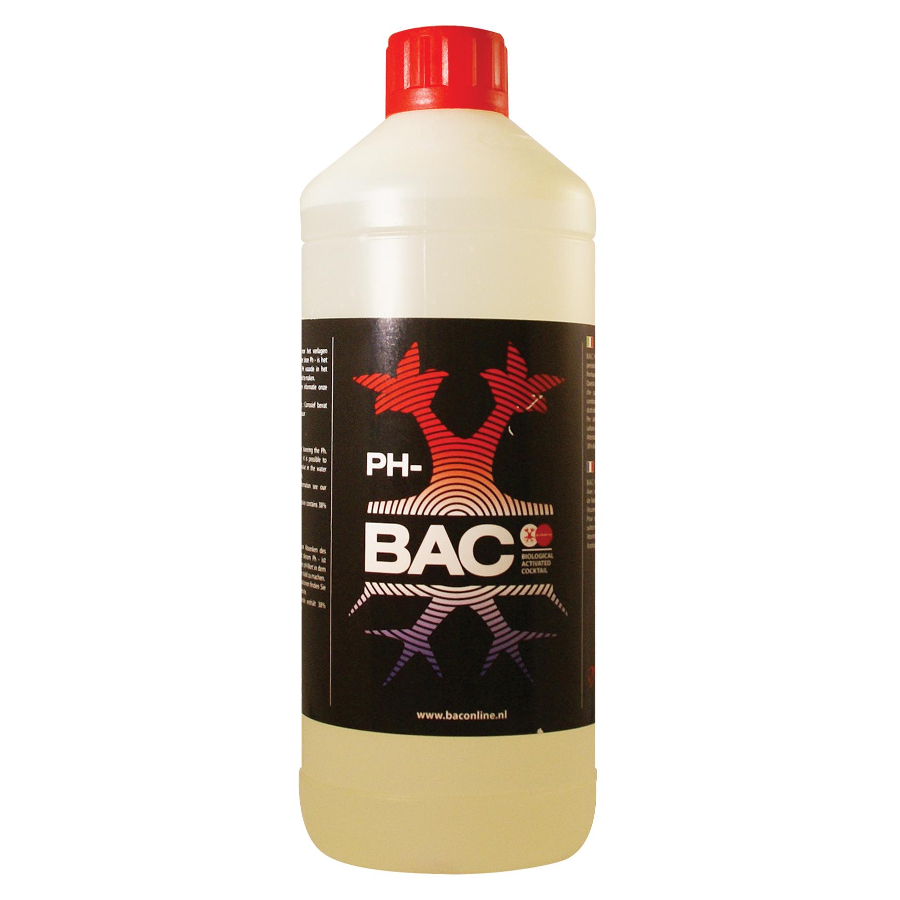 BAC - pH- для понижения уровня кислотности