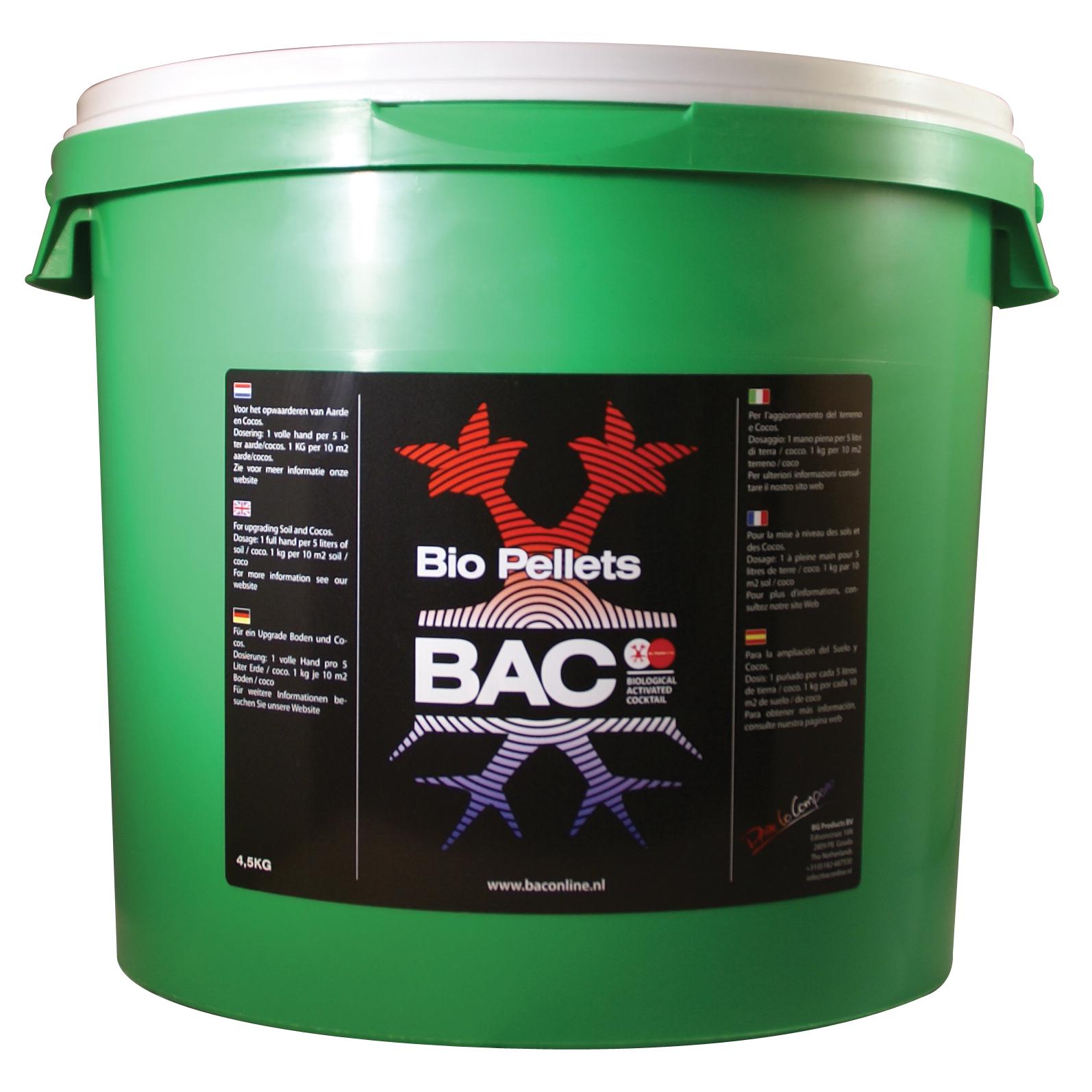 BAC - биозерна (Bio Pellets)