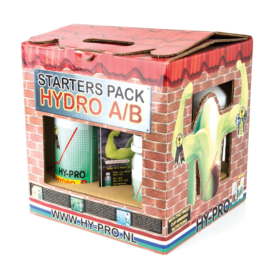Hy-Pro - Starters Pack Hydro (стартовый комплект для выращивания на гидропонике)