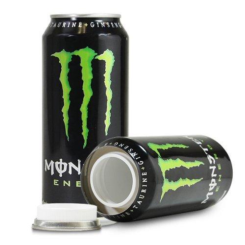 Тайник в виде банки энергетика Monster Energy со скрытым отсеком