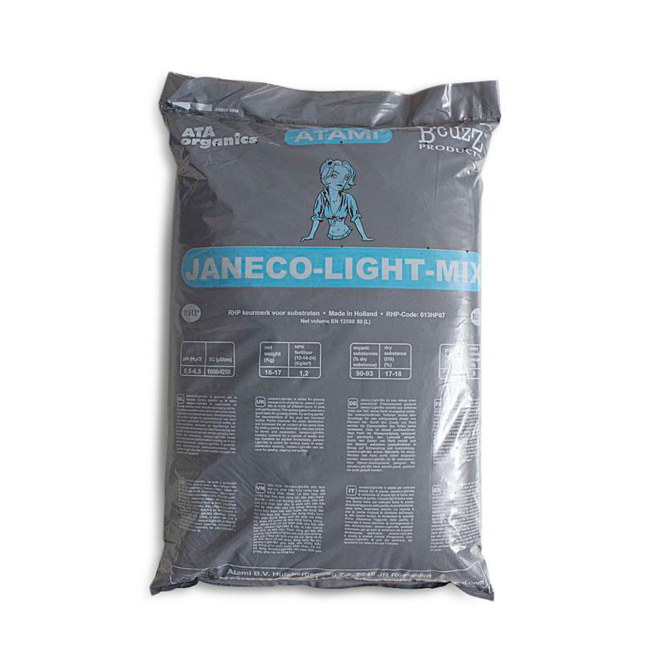 Универсальная земля для выращивания каннабиса Janeco-Light-Mix (50 литров)
