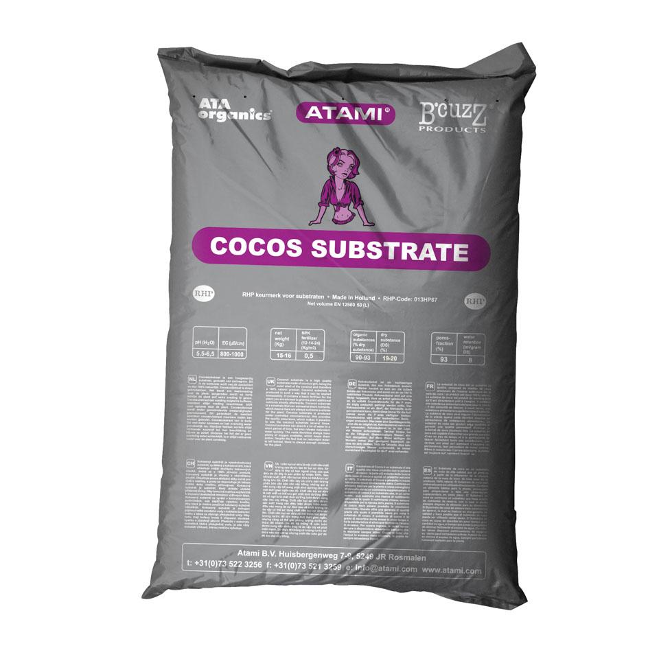 Кокосовый субстрат B'cuzz (50 литров)