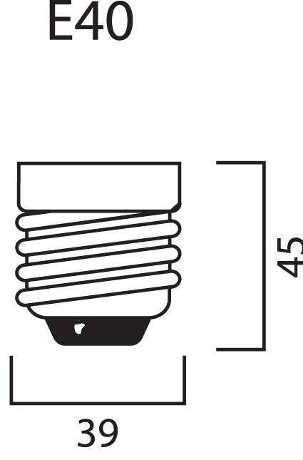 Натриевая лампа для выращивания растений Sylvania Groxpress 600W (стадия цветения)