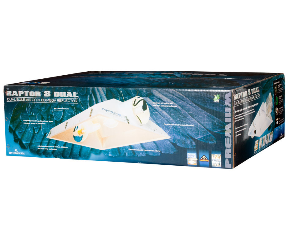 Отражатель Raptor для 2 ламп (200 мм.)
