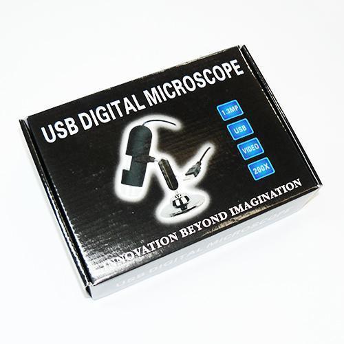 Микроскоп с USB (увеличение 200X)