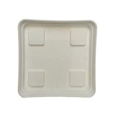Поддон квадратный белый 20x20 см. 00710