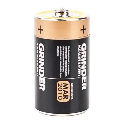 Гриндер для измельчения травы в виде батарейки 00366
