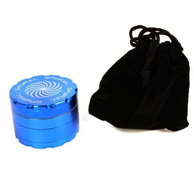 Гриндер алюминиевый для марихуаны Spyral с магнитным замком и отсеком для сбора смолы из 4 частей GRIGAM0016