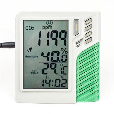 Электронный измеритель уровня углекислого газа в гроубоксах и теплицах (углекислый газ, температура, влажность) 00241