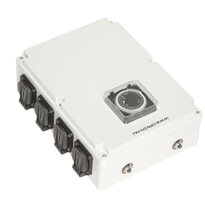 Таймер Davin для подключения ламп в гроубоксах и теплицах DV-28 (8x600W) 00502