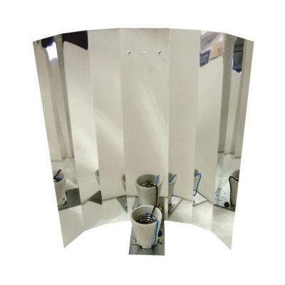 Отражатель для натриевых и МГЛ ламп алюминиевый с гладкой поверхностью 02504