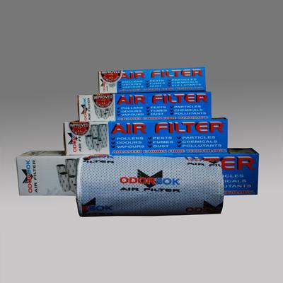 Угольный фильтр OdorSok (250 мм./600 мм., 1140 м3/час) IFI4048