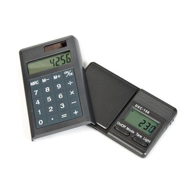 Электронные весы замаскированные под калькулятор DCX-150 (150 грамм / 0.1 грамм) 00841