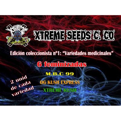 Xtreme Seeds - медицинская коллекция (fem.) extr8
