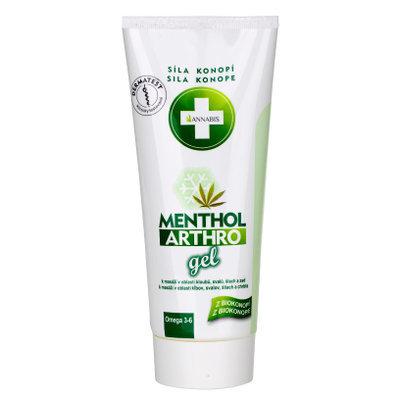 Menthol Arthro - освежающий гель для снятия усталости мышц на основе каннабиса 04758