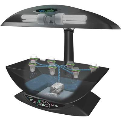 Компактная система аэропоники AeroGarden 7 для домашнего выращивания растений 01357