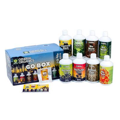 Комплект органических удобрений General Organics 04192