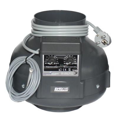 Вентилятор вытяжной Prima Klima с функцией контроля скорости и температуры (диаметр 125 мм./производительность 400 м3/час) 04472