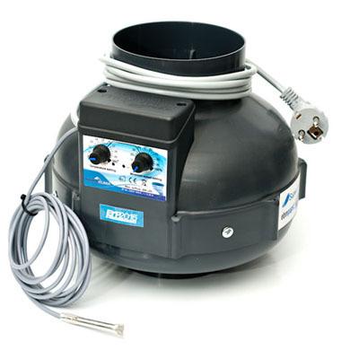 Вентилятор вытяжной Prima Klima с функцией контроля скорости и влажности (диаметр 125 мм./производительность 400 м3/час) 000235