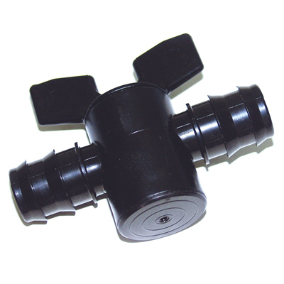 Соединение с краником для шланга в оросительной системе 25 мм. 00676