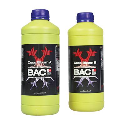 BAC - удобрение для кокосового субстрата на стадии цветения А+Б (Coco Bloom A+B) 02805