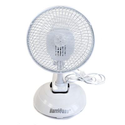 Вентилятор на прищепке для гроубокса с горизонтальной подставкой (15 см.) 00581