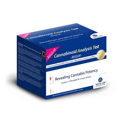 Тест для определения содержания каннабиноидов (40 тестов) cannatest1