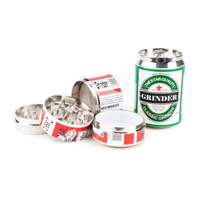 Гриндер в виде банки пива (4 части) 00359