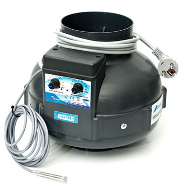 Вентилятор вытяжной Prima Klima с функцией контроля скорости и влажности (диаметр 160 мм./производительность 800 м3/час) 04476