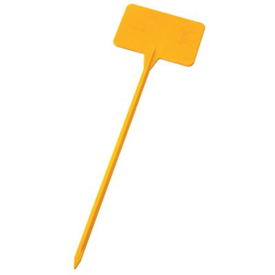 Желтая этикетка для обозначения сорта растения (100 штук) 01390