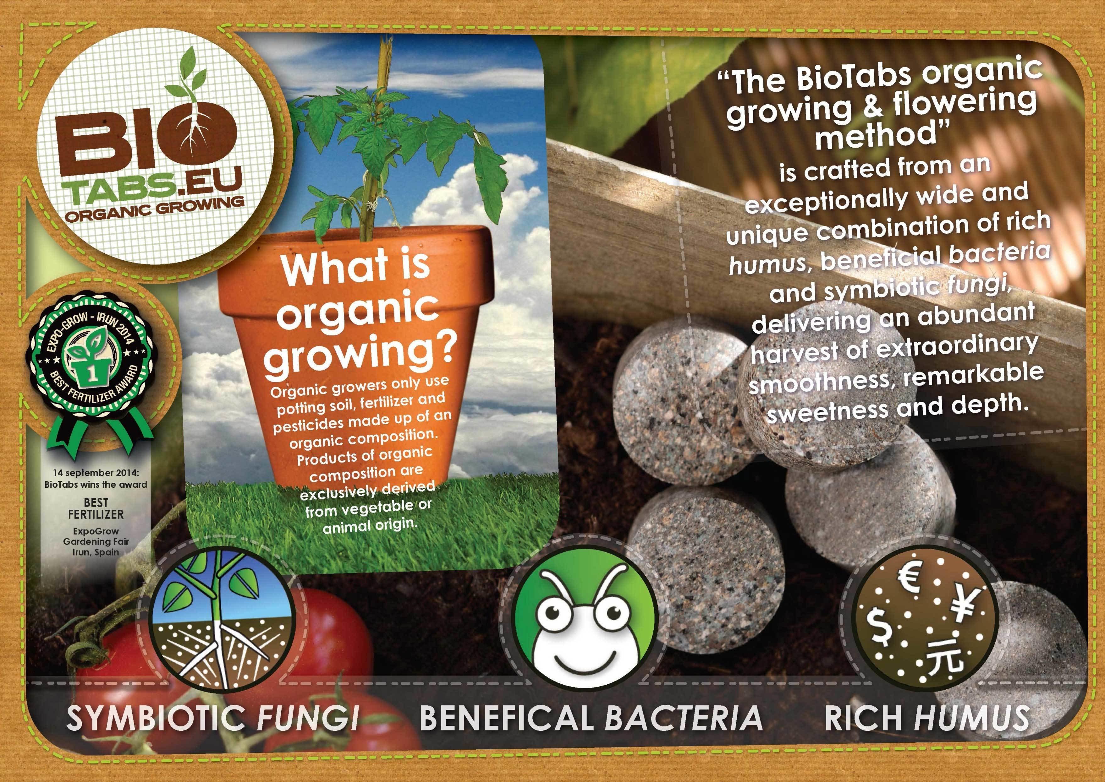 BioTabs - Orgatrex (органическая подкормка для растений)