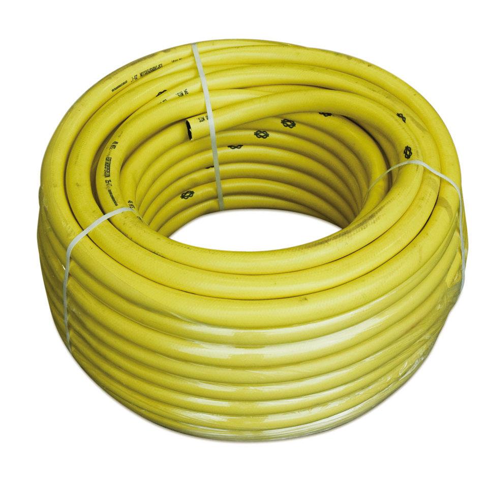 Желтый шланг для систем автополива (диаметр 25 мм.)