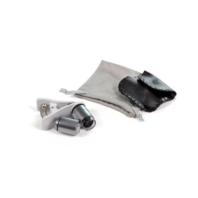 Микроскоп с прищепкой для телефона (увеличение 60X)