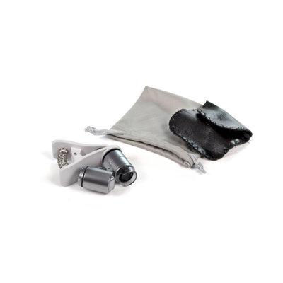 Микроскоп с прищепкой для телефона (увеличение 60X) 05374