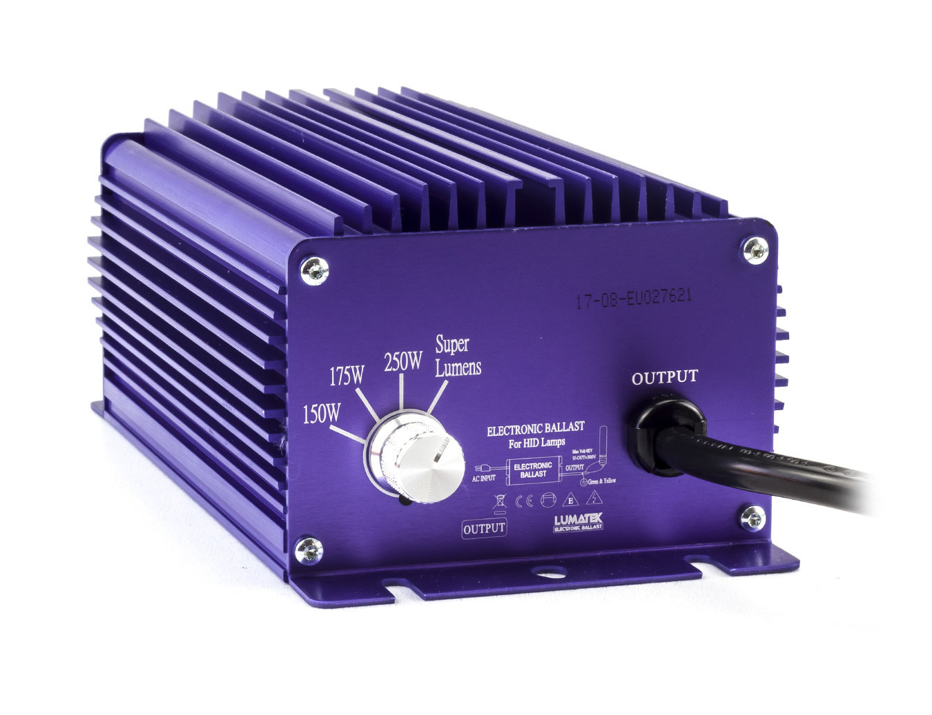 Балласт Lumatek 250-175-150W для HPS (ДНАТ) и MH (МГЛ) ламп