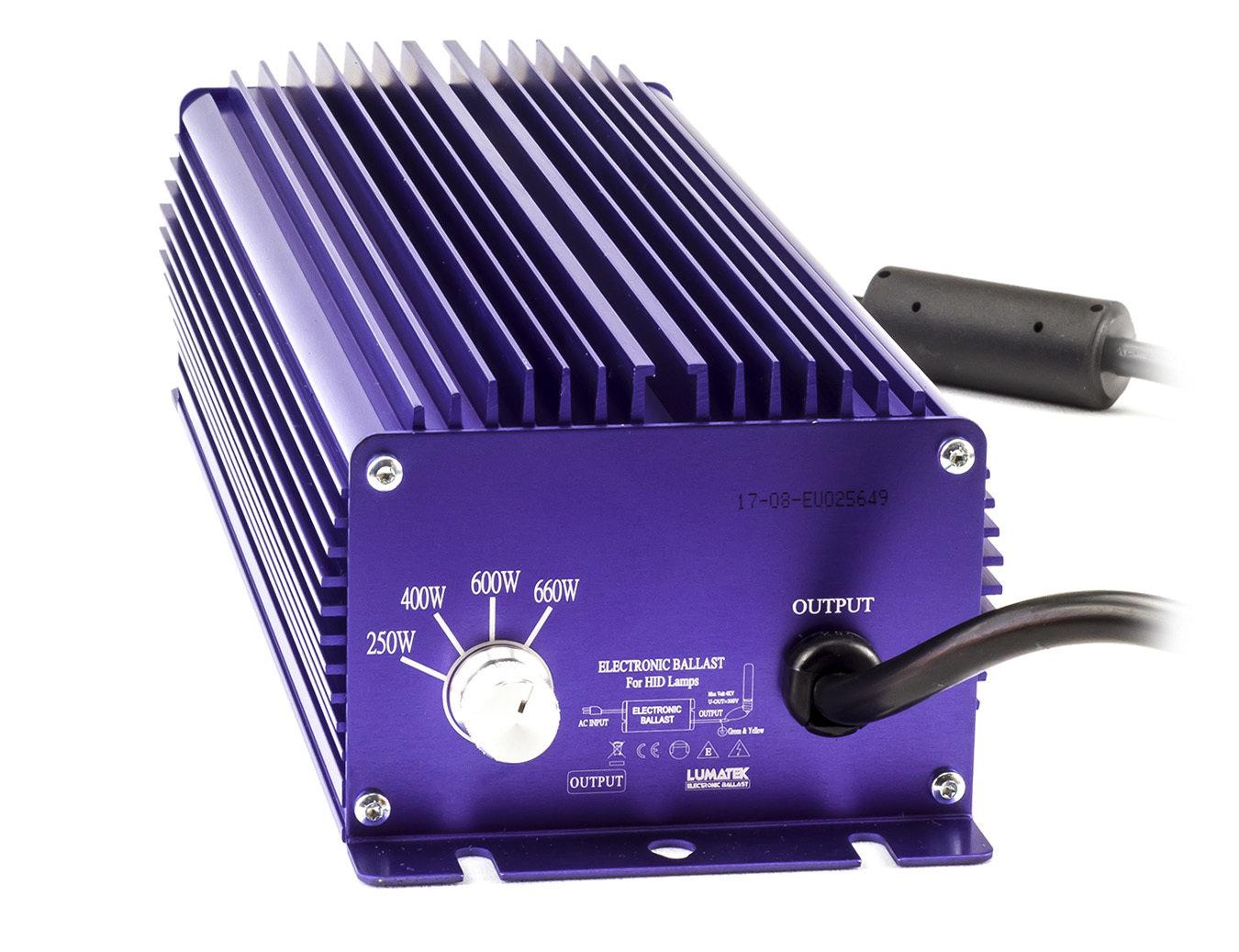 Балласт Lumatek 600-400-250W для HPS (ДНАТ) и MH (МГЛ) ламп