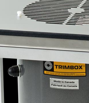Триммер и стол для обрезки листьев марихуаны Trimbox + Workstation