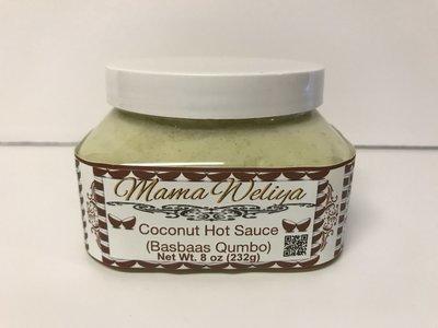 Coconut Hot Sauce (Basbaas Qumbo)