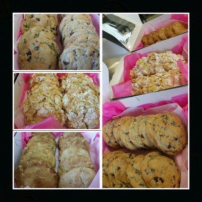 Gourmet Cookie Gift Box- 1 Dozen Variety