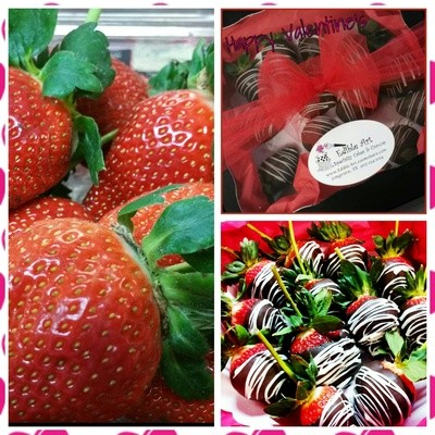 Chocolate Dipped Strawberries- 1 Dozen